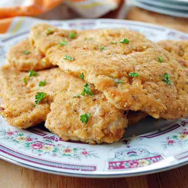 Italian Chicken Cutlets (The Best!)