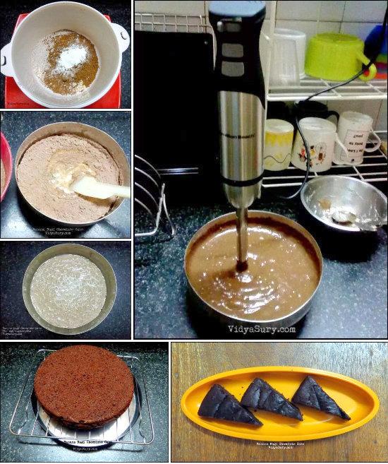 Eggless Banana Ragi Chocolate Cake Vidya Sury