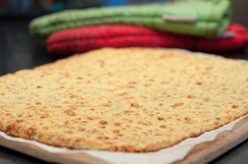 Blumenkohl-Cracker teilweise gebacken-1
