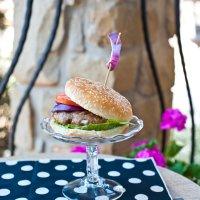 The Perfect Rotisserie Burger