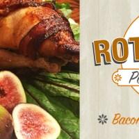 Bacon-Wrapped Rotisserie Pheasant