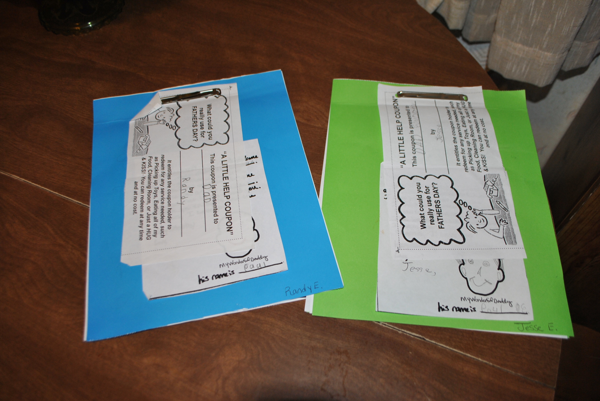 Fathers Day Sunday School Packets