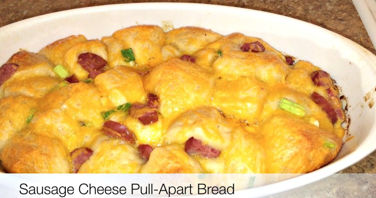Sausage Egg And Cheese Pull Apart Bread