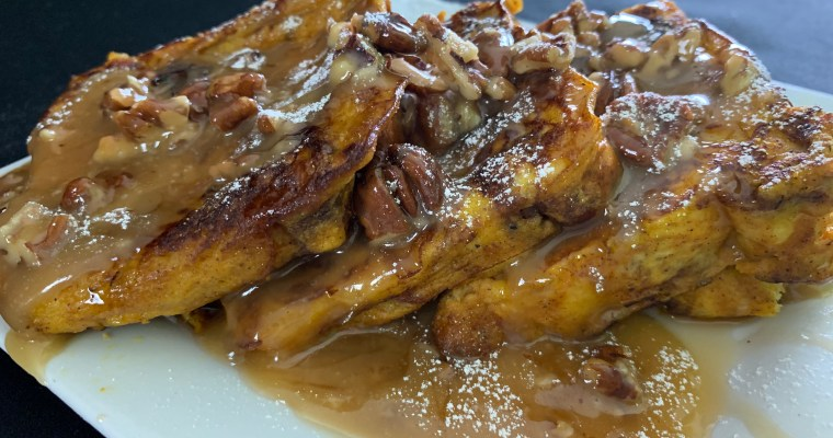French Toast With Pecan    Praline