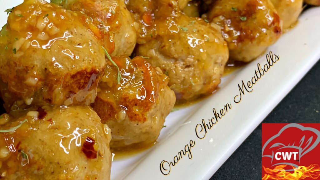 Orange Chicken Meatballs Recipe