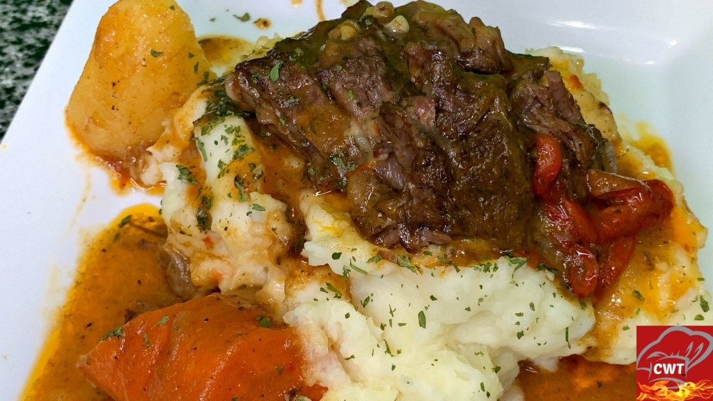 Delicious Melt In Your Mouth Best Pot Roast Recipe!!! Perfectly Seasoned Pot Roast With Flavor In Every Bite!!! Serve On A Creamy Bed Of Mashed Potatoes.