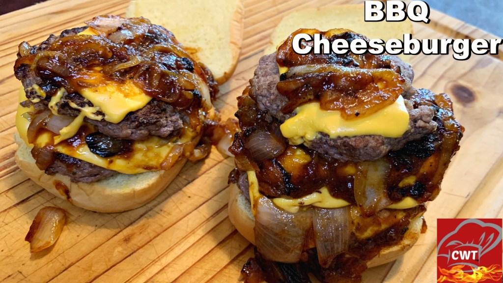 Best BBQ Triple Cheeseburger