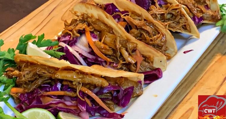 BBQ Shredded Chicken Tacos