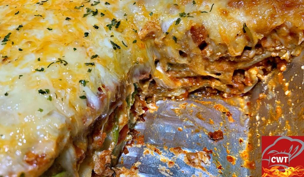 Best Meaty Cheesy Lasagna