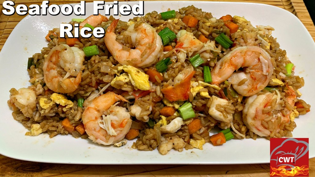The Best Seafood Fried Rice Recipe