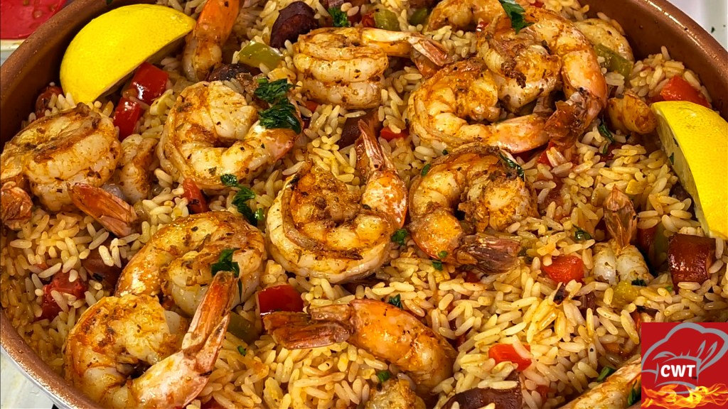 Cajun Shrimp And Andouille Rice Skillet