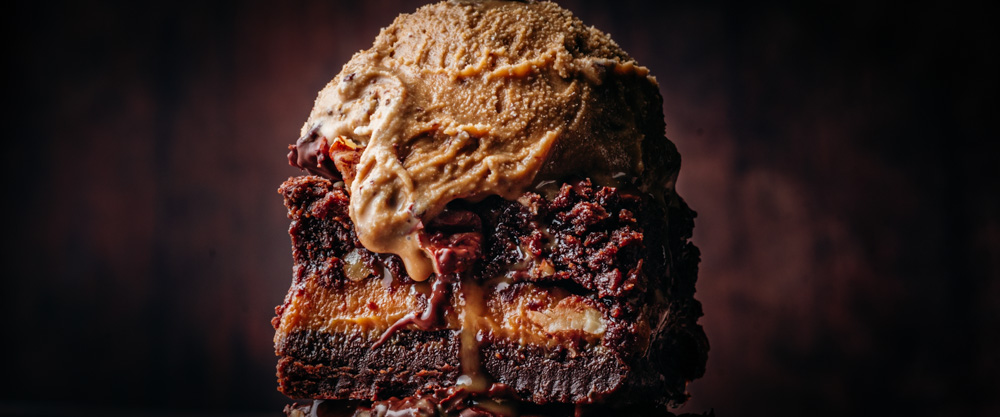 Dulce de Leche Layered Brownies