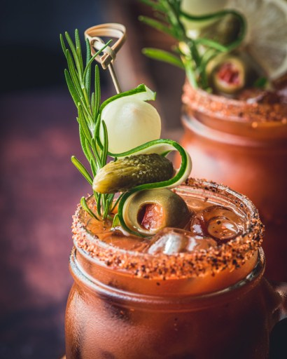 Bloody Mary Garnishes