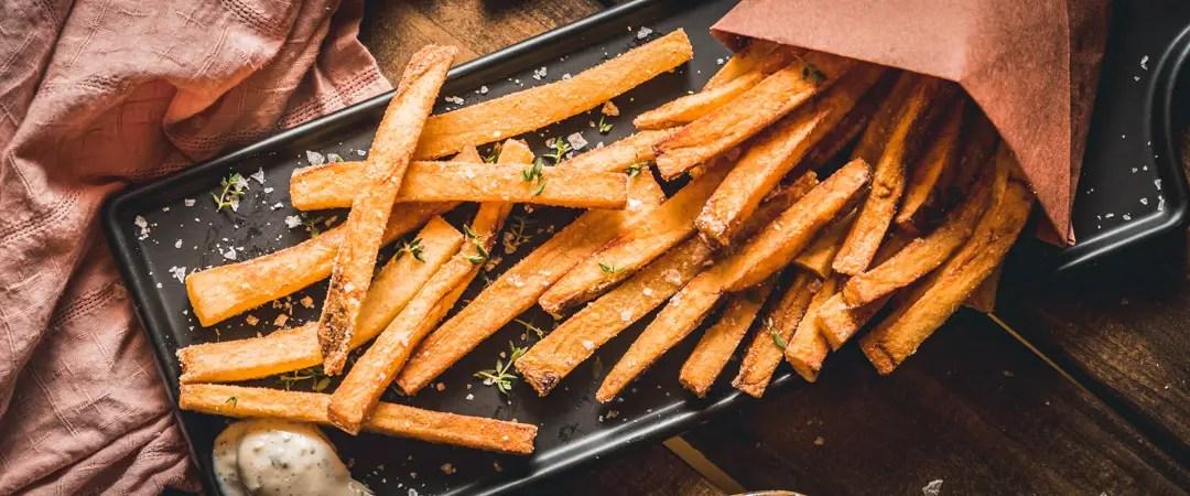 Homemade Garlic Fries