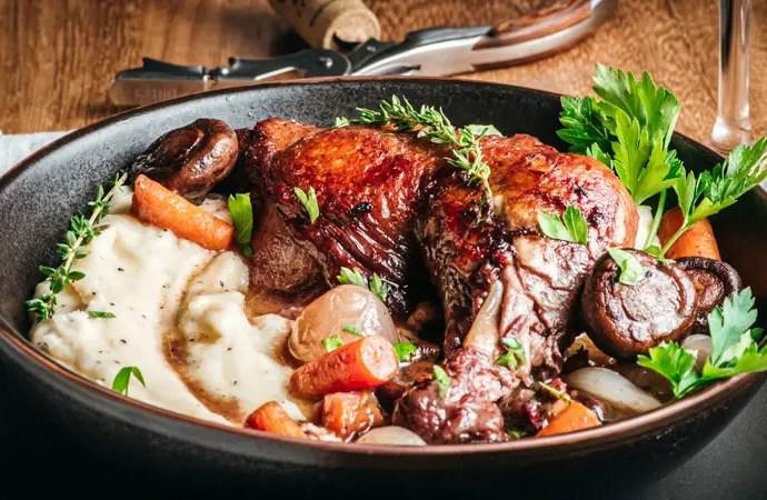 Coq au Vin – Chicken in Red Wine
