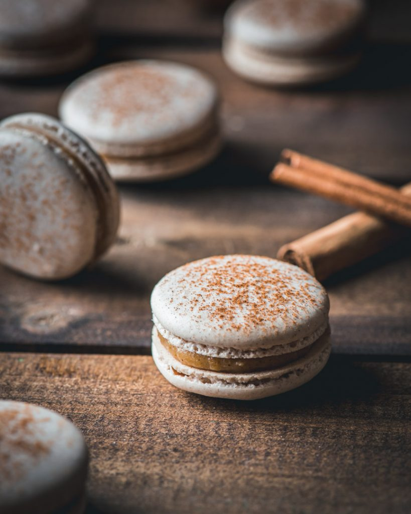 Snicker Doodle Macarons