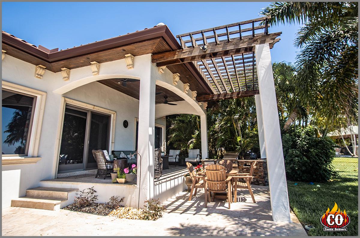 custom pergolas patio roof extensions