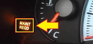 How to Reset Maintenance Light on Toyota Corolla