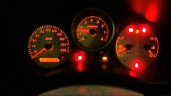 Toyota rav4 all warning lights on
