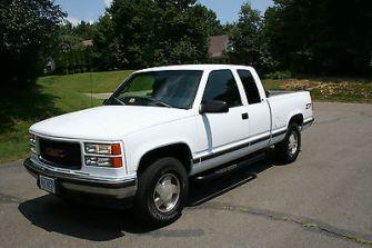 1998 GMC Sierra 1500 Towing Capacity