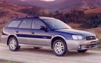 2001 subaru outback towing capacity