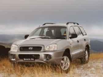 2003 Hyundai Santa FE Towing Capacity