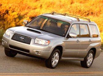 2006 Subaru Forester Towing Capacity