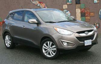2011 Hyundai Tucson Towing Capacity
