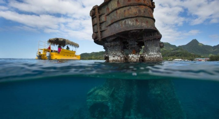 Raro Reef Sub