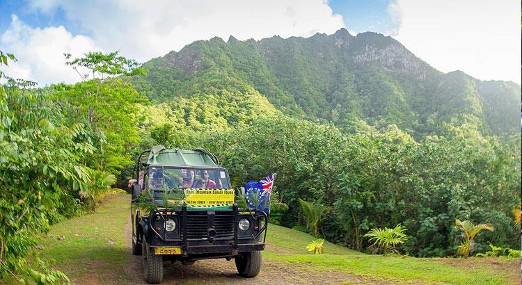 Raro Safari Tour through Avatiu Valley