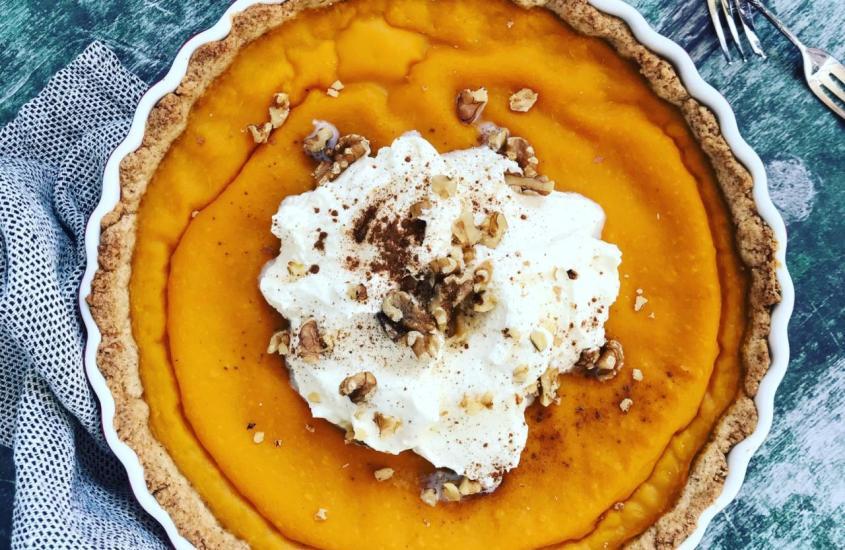 Kürbis Vanille Pie