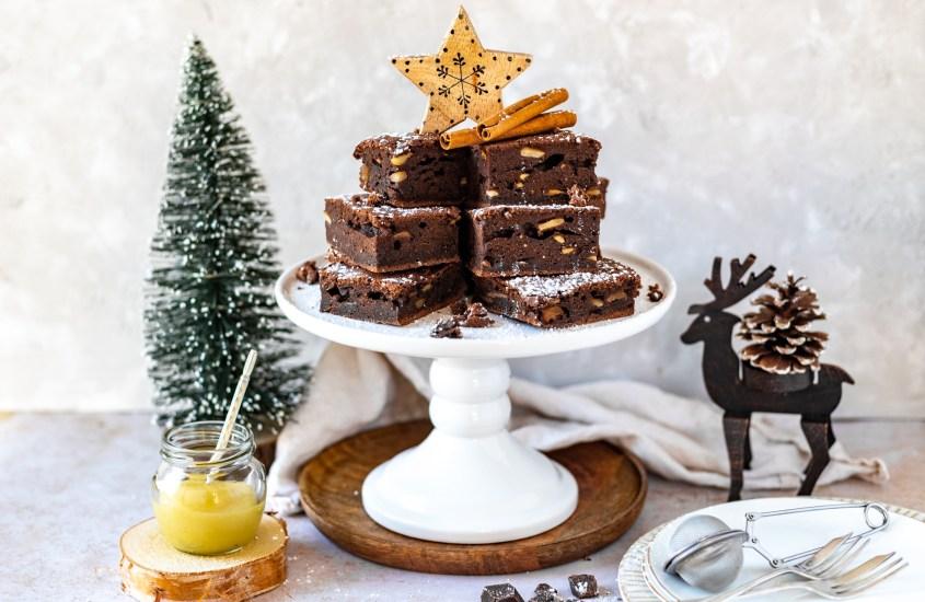 Bratapfel Schokoladen Brownies