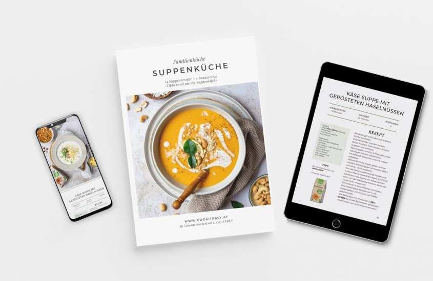 """Suppentiger aufgepasst! HIER kommt mein E-Book """"Suppenküche""""!"""
