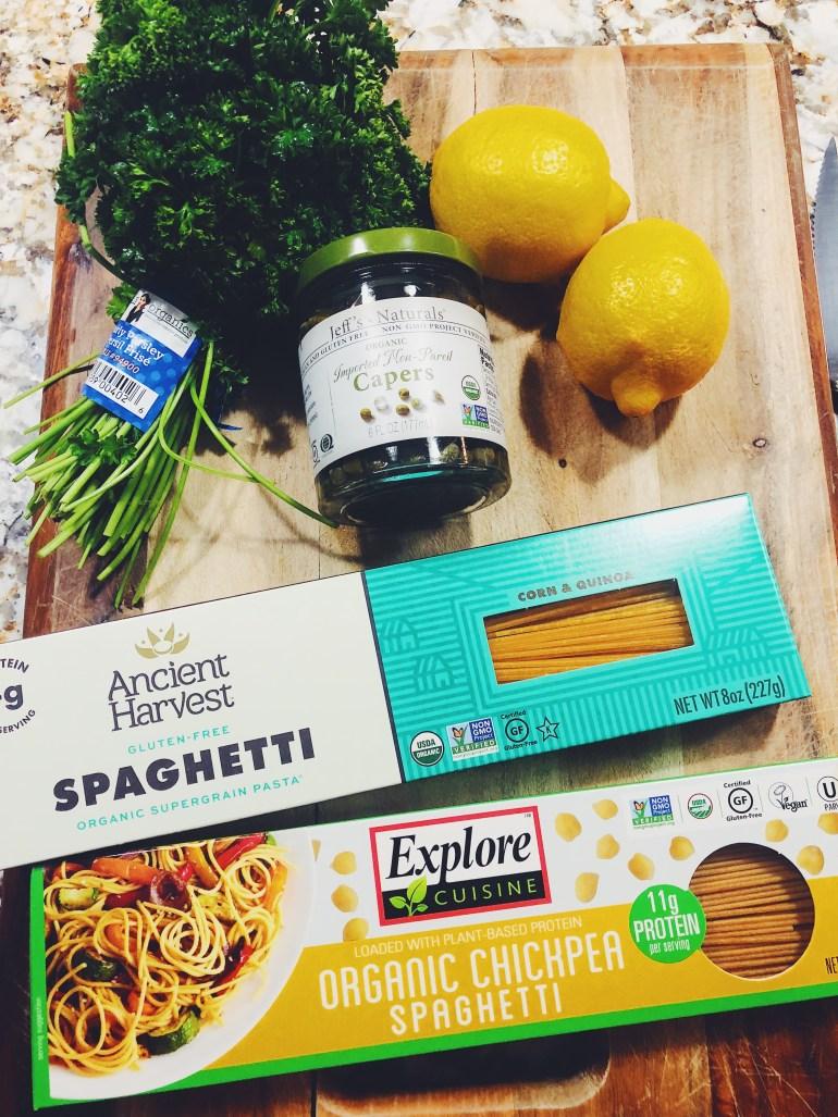 Healthy Chicken Piccata Recipe Ingredients