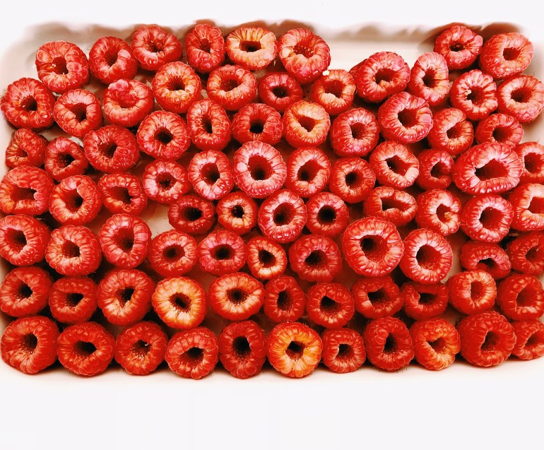 Fro-Yo Filled Raspberries Recipe- Cook It Healthier