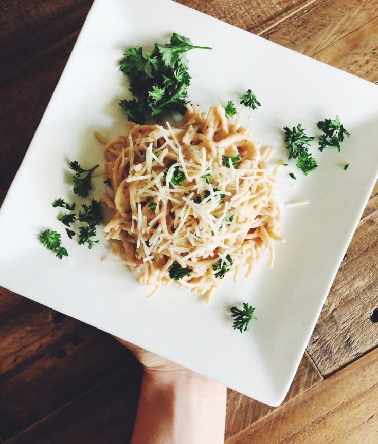 Low-Fat Alfredo Pasta Recipe | Cook It Healthier
