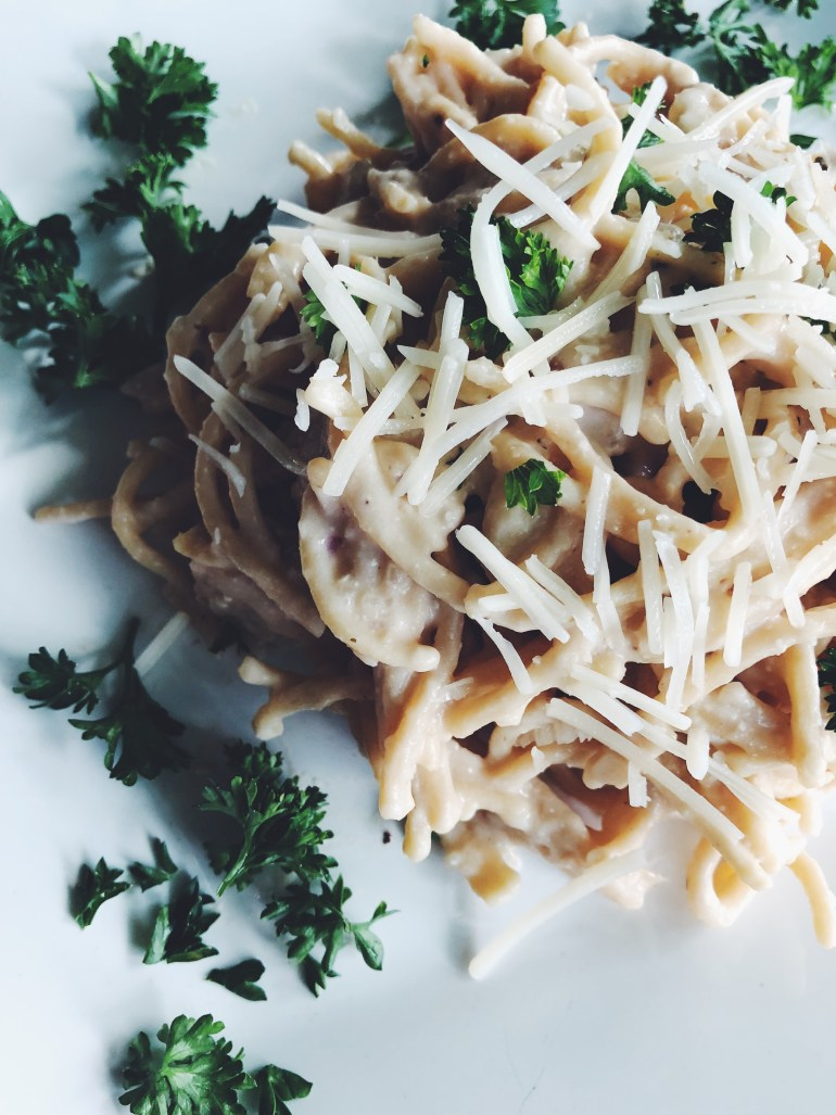 Low-Fat Alfredo Pasta Recipe | Cook It Healthier