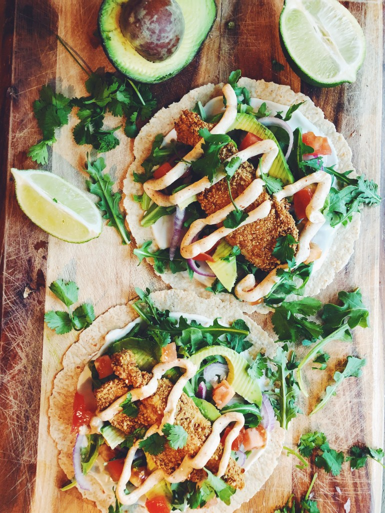 Faux Fried Chicken Tacos | Cook It Healthier Product Review