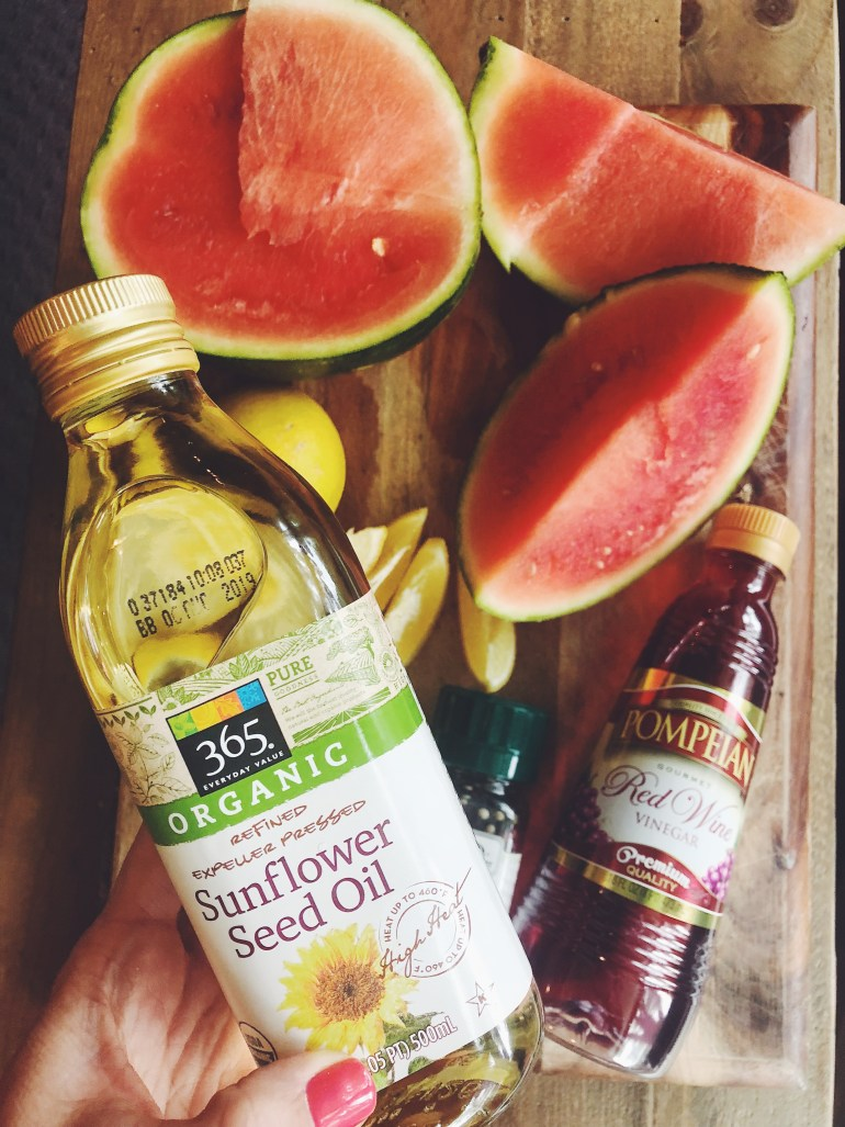 Recipe   Watermelon Vinaigrette Dressing by Cook It Healthier