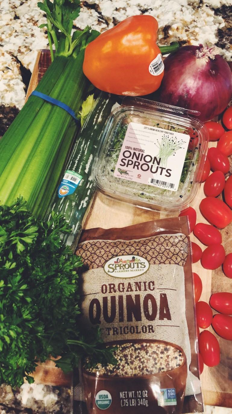 Quinoa Rainbow Salad | recipe Cook it healthier