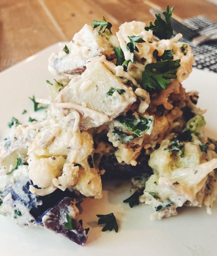 Recipe | Low-Carb Lemon Parmesan Potato Salad by Cook It Healthier