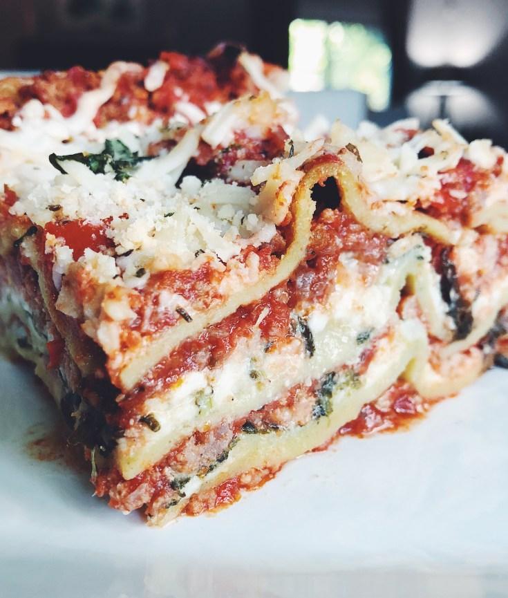 Recipe   Mary's Delicious Protein Lasagna   CookItHealthier.com