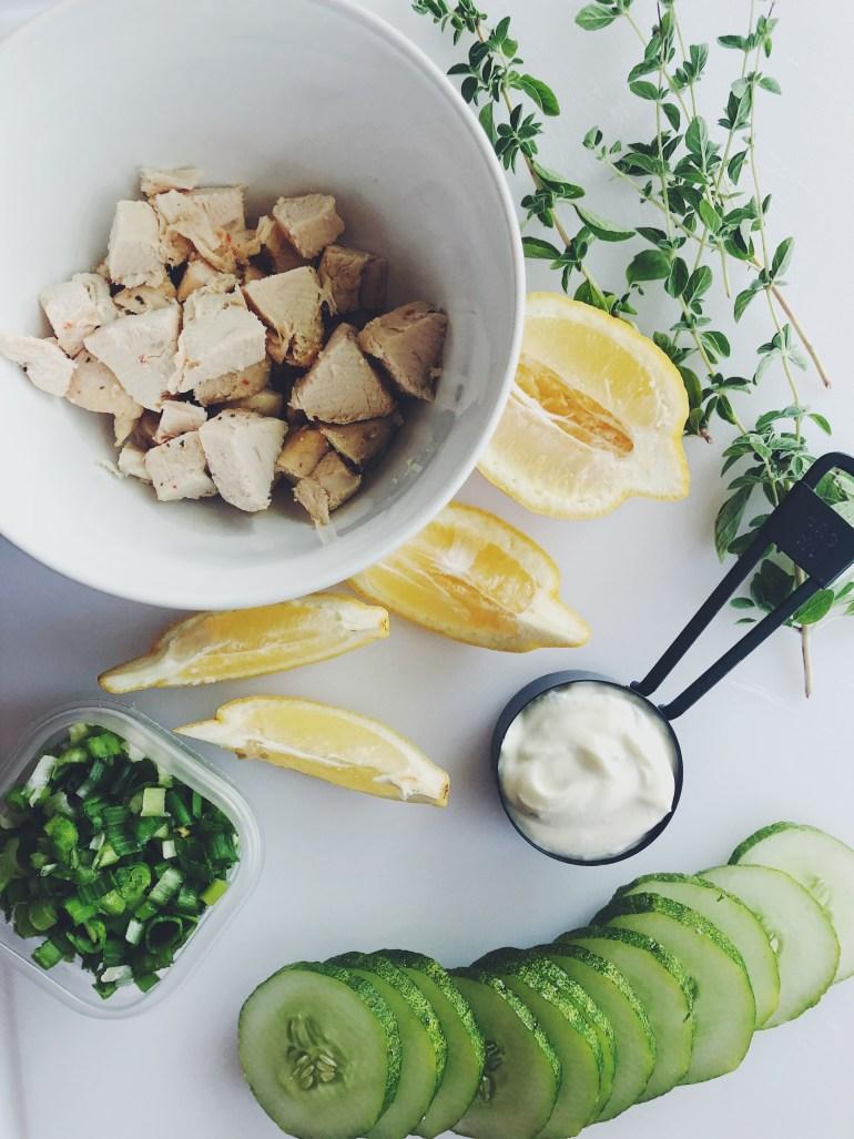 RECIPE | 5 Ingredient Lemon-Rosemary Chicken Salad | CookItHealthier.com