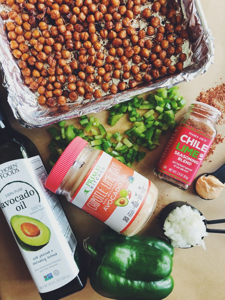 Recipe | Chile Lime Roasted Chickpea Salad | CookItHealthier.com