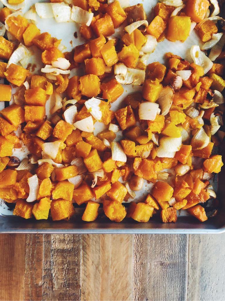 RECIPE | Homemade Roasted Trader Joe's Butternut Squash Soup | cookithealthier.com