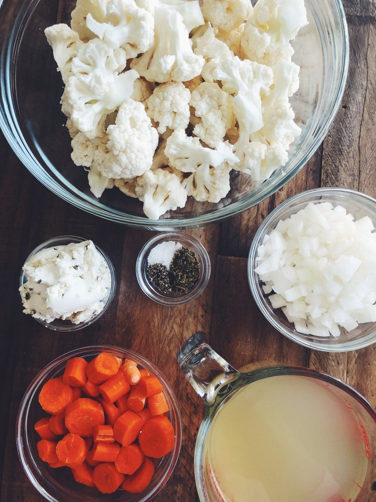 RECIPE | Creamy Cauliflower Soup | CookItHealthier.com