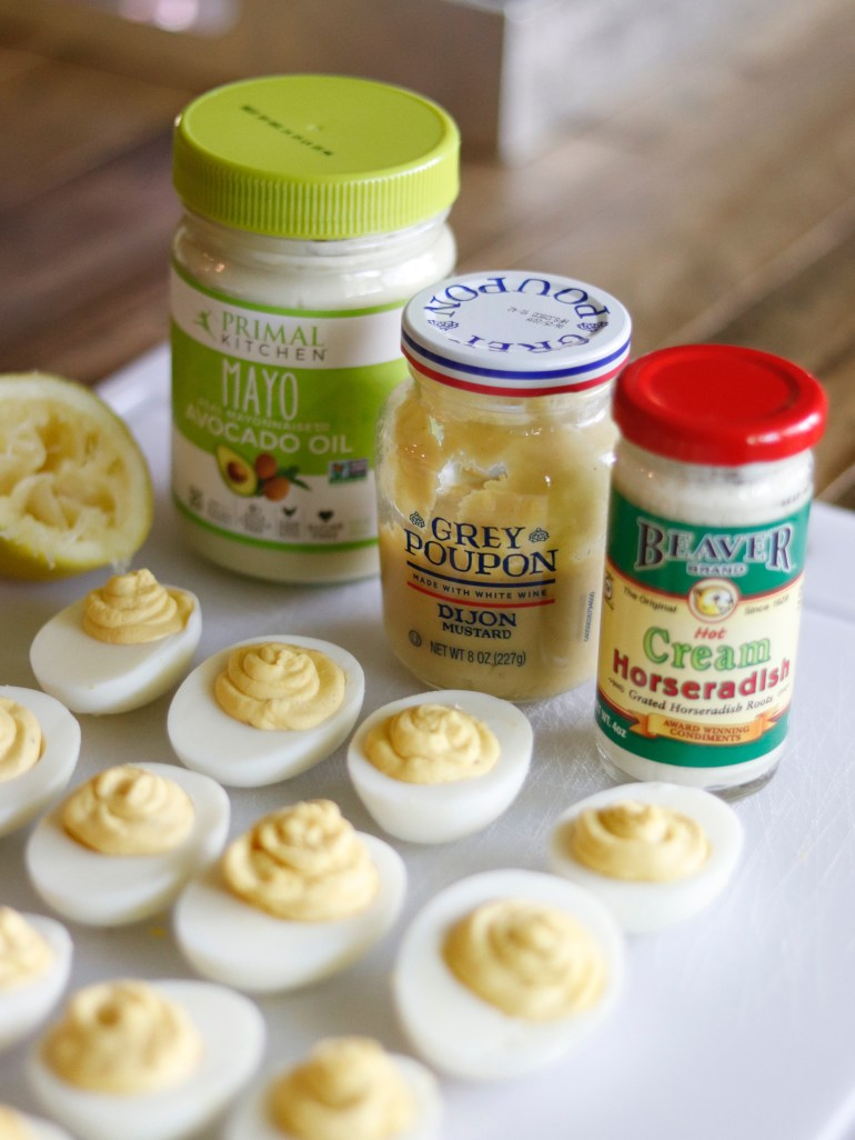 Recipe | Horseradish Deviled Eggs | cookithealthier.com