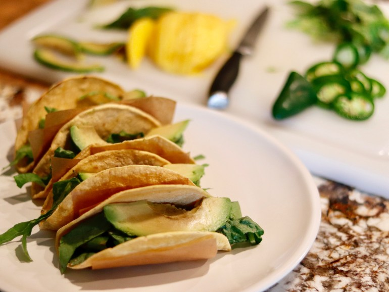 RECIPE | Tequila-Lime Shrimp Tacos | cookithealthier.com