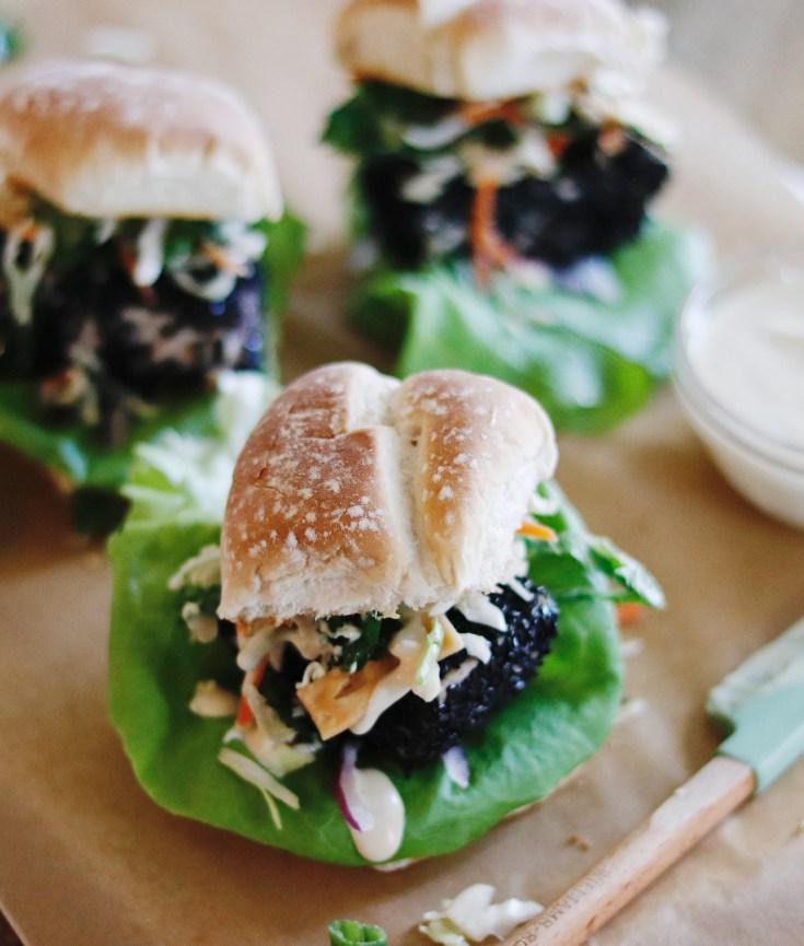 RECIPE | Sesame Crusted Tuna Sliders with Wasabi Mayo | Cookithealthier.com