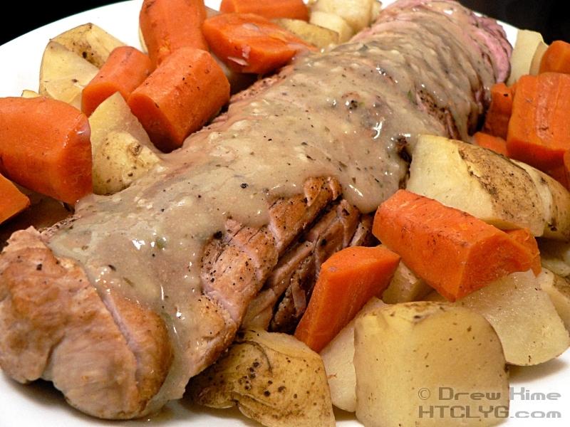 Crock Pot Pork Loin Roast